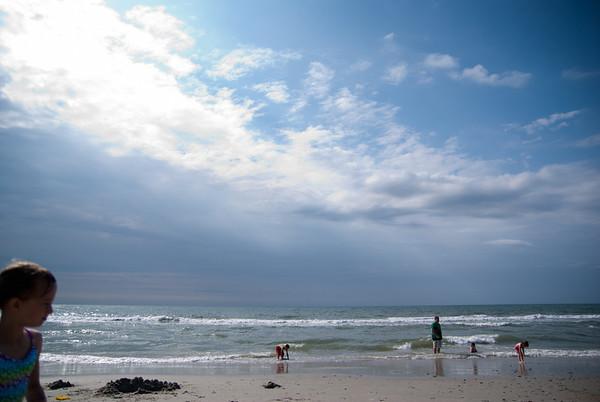Memorial day at beach
